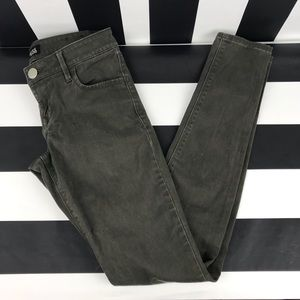 5 for $25 Express Jeans Dark Green Skinny Pants